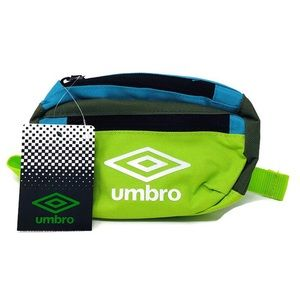 Neon Green Blue Block Waist Fanny Pack